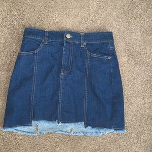 The CUTEST jean skirt EVER. PERFECT CONDITION.